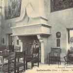 Château, salle des gardes, vers 1900