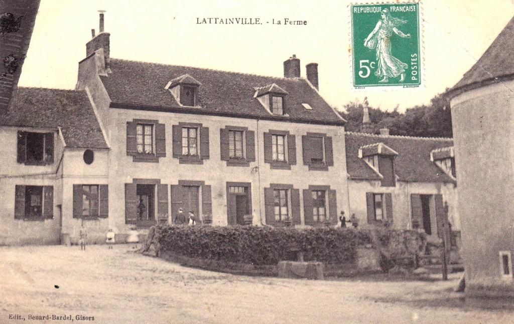 ferme De Chezelles, vers 1900