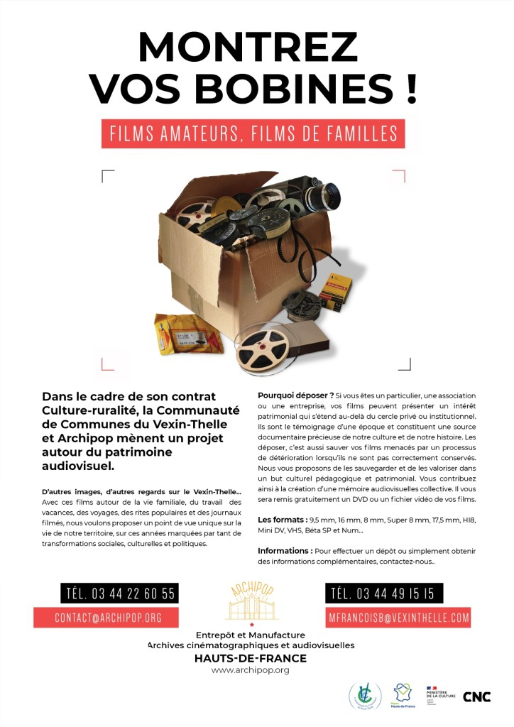 afffiche collecte films ccvt